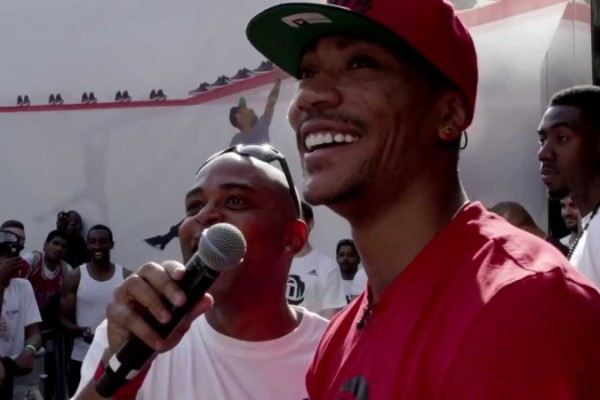 adidas Basketball - Jump With Derrick Rose in London