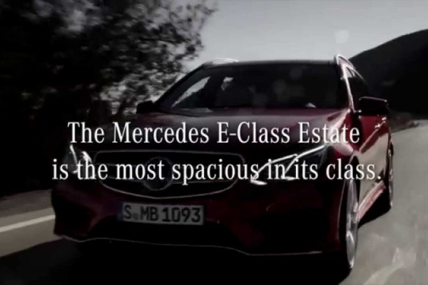 Mercedes E-Class Estate - The Transportable Banner