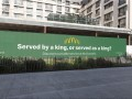 """McDonald's """"Served by a king, or served as a king?"""""""