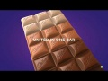 Cadbury Unity Bar, India's first chocolate with dark, blended, milk and white chocolate