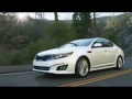 Go on a cross country road trip in his brand new 2015 Kia Optima